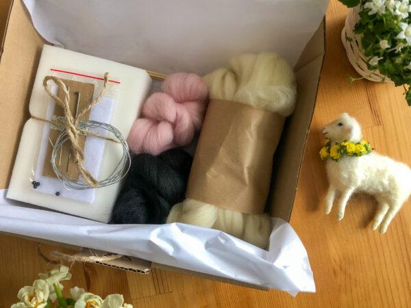kurs filcowania owieczka